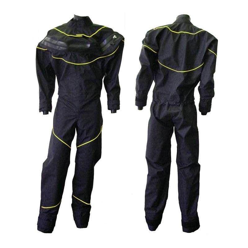 Сухой гидрокостюм DryFashion Black/Yellow (XL)