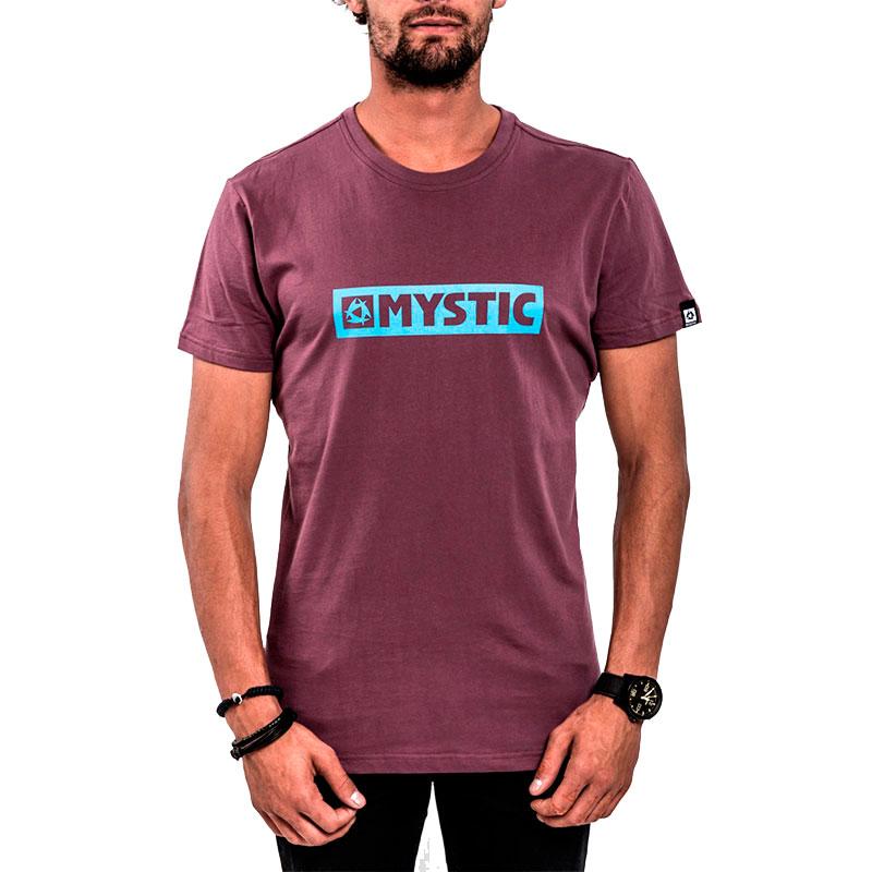 Футболка мужская Mystic Brand Bordeaux  (M,L)